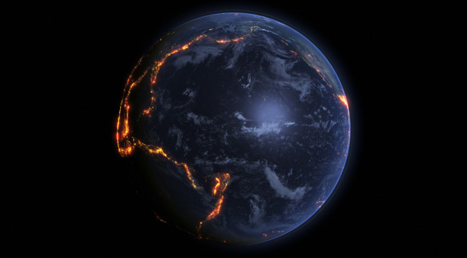 Erdbeben-Visualisierung macht Kontinentalplatten sichtbar (Video)