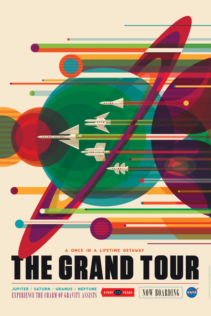 NASA Poster Grand Tour