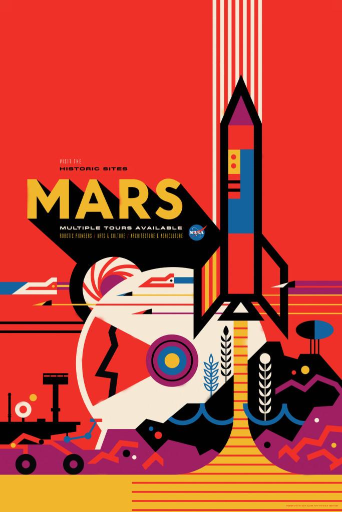 NASA Poster Mars