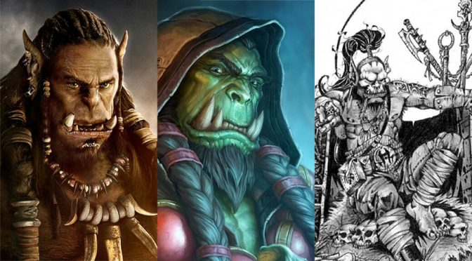 Welt von Warcraft Header