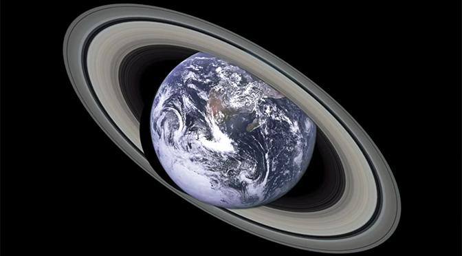 Die Erde mit Ringen: Planetenkonzepte wasserdicht umsetzen (Videos)